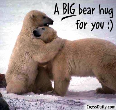 Much needed hugs