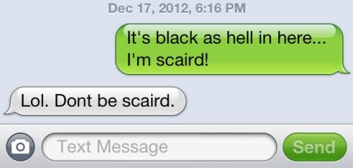 scaird